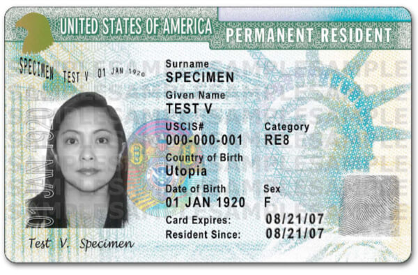 History of the Green Card